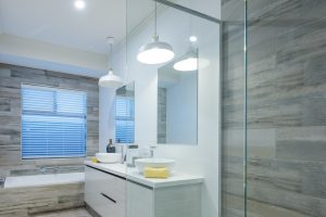 Semi-Frameless-Shower-Screen-and-mirrors-over-double-vanity-2